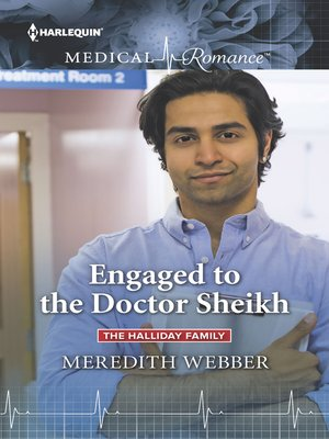 cover image of Engaged to the Doctor Sheikh