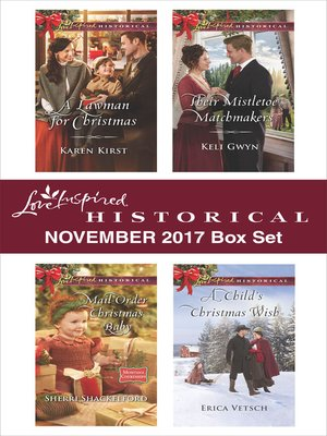 cover image of Love Inspired Historical November 2017 Box Set