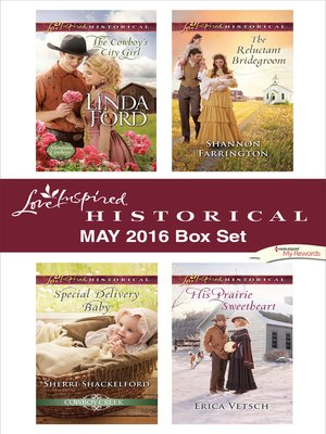 cover image of Harlequin Love Inspired Historical May 2016 Box Set