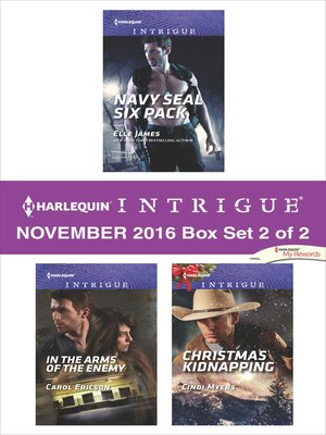 cover image of Harlequin Intrigue November 2016, Box Set 2 of 2