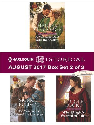 cover image of Harlequin Historical August 2017, Box Set 2 of 2