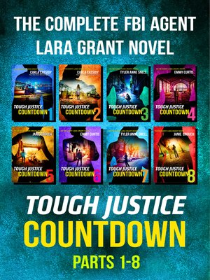 cover image of Tough Justice: Countdown Box Set