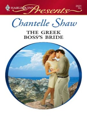 cover image of The Greek Boss's Bride