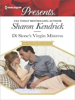 cover image of Di Sione's Virgin Mistress--An Emotional and Sensual Romance