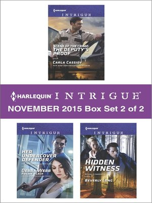 cover image of Harlequin Intrigue November 2015, Box Set 2 of 2