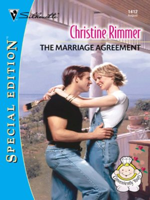 cover image of The Marriage Agreement