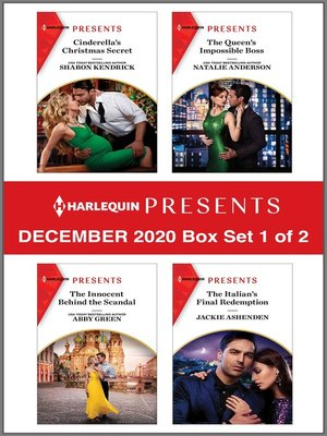 cover image of Harlequin Presents--December 2020--Box Set 1 of 2
