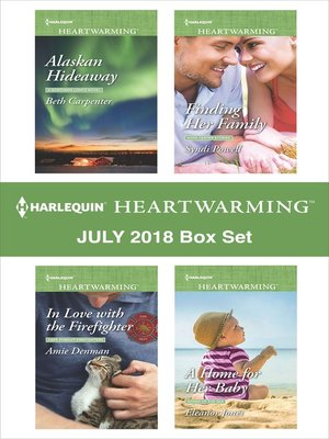 cover image of Harlequin Heartwarming July 2018 Box Set