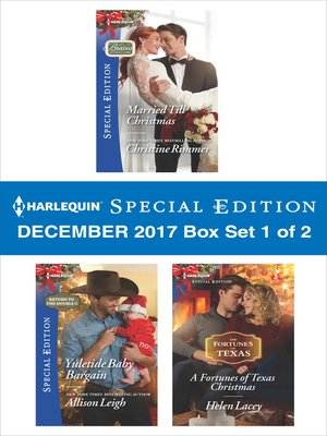 cover image of Harlequin Special Edition December 2017--Box Set 1 of 2