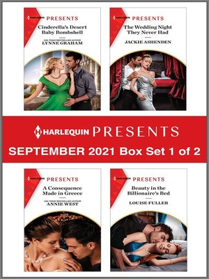 cover image of Harlequin Presents September 2021--Box Set 1 of 2