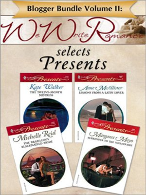 cover image of Blogger Bundle Volume II: WeWriteRomance.com Selects Presents