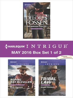 cover image of Harlequin Intrigue May 2016, Box Set 1 of 2