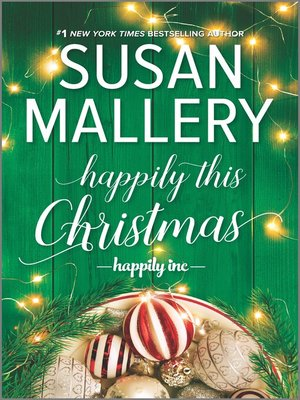 cover image of Happily This Christmas--A Novel