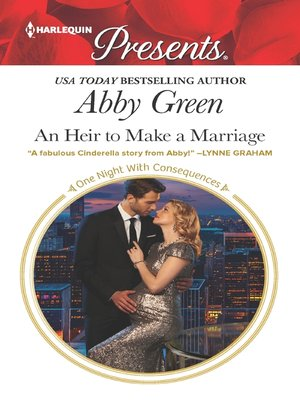 cover image of An Heir to Make a Marriage