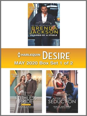 cover image of Harlequin Desire May 2020--Box Set 1 of 2