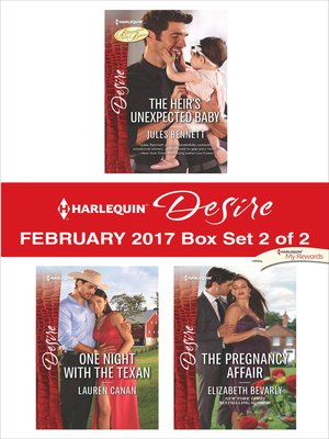 cover image of Harlequin Desire February 2017, Box Set 2 of 2