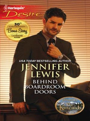 cover image of Behind Boardroom Doors