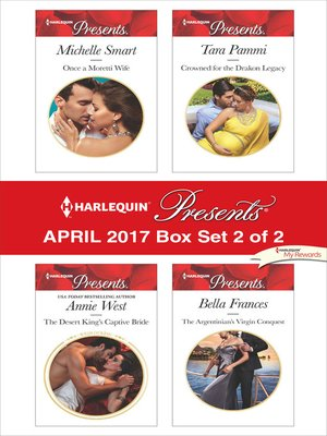 cover image of Harlequin Presents April 2017, Box Set 2 of 2