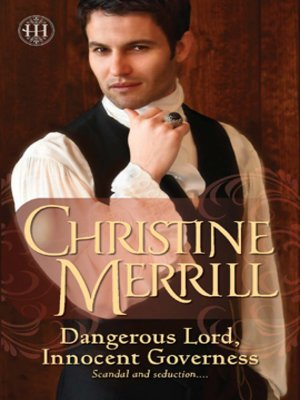 cover image of Dangerous Lord, Innocent Governess