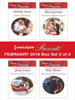 cover image of Harlequin Presents February 2018--Box Set 2 of 2