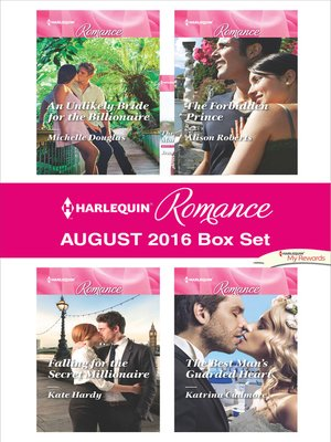 cover image of Harlequin Romance August 2016 Box Set