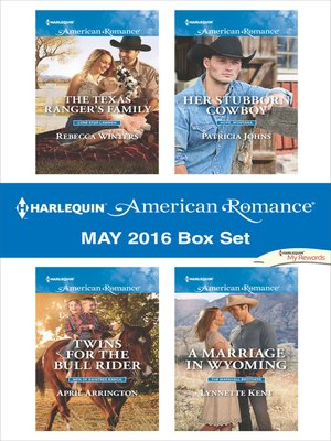cover image of Harlequin American Romance May 2016 Box Set