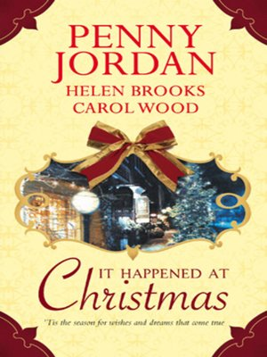 cover image of It Happened at Christmas