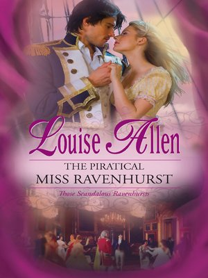 cover image of The Piratical Miss Ravenhurst