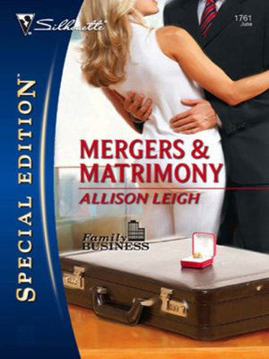 cover image of Mergers & Matrimony