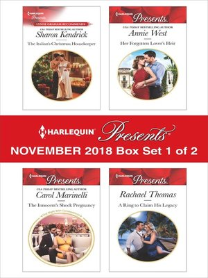 cover image of Harlequin Presents November 2018--Box Set 1 of 2