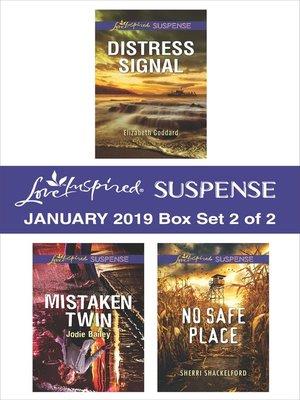 cover image of Harlequin Love Inspired Suspense January 2019, Box Set 2 of 2