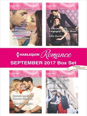 cover image of Harlequin Romance September 2017 Box Set