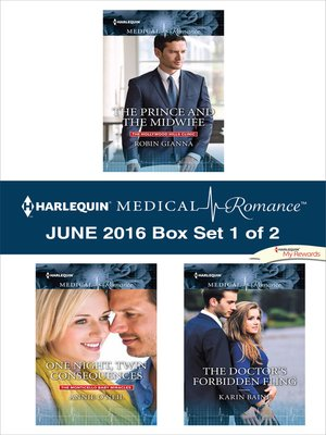 cover image of Harlequin Medical Romance June 2016, Box Set 1 of 2