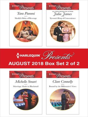 cover image of Harlequin Presents August 2018--Box Set 2 of 2