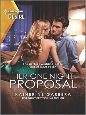 cover image of Her One Night Proposal