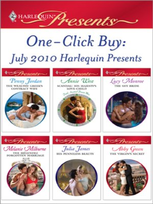 cover image of One-Click Buy: July 2010 Harlequin Presents