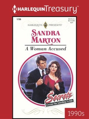 cover image of A Woman Accused