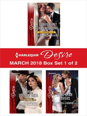 cover image of Harlequin Desire March 2018--Box Set 1 of 2