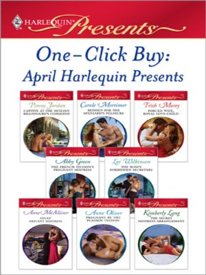 cover image of OneClick Buy: April 2009 Harlequin Presents
