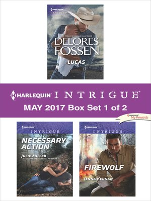 cover image of Harlequin Intrigue May 2017, Box Set 1 of 2