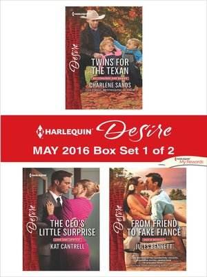 cover image of Harlequin Desire May 2016, Box Set 1 of 2