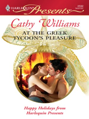 cover image of At The Greek Tycoon's Pleasure