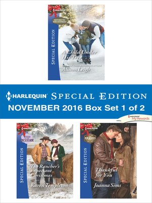 cover image of Harlequin Special Edition November 2016, Box Set 1 of 2