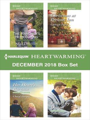 cover image of Harlequin Heartwarming December 2018 Box Set