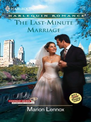 cover image of Last-Minute Marriage