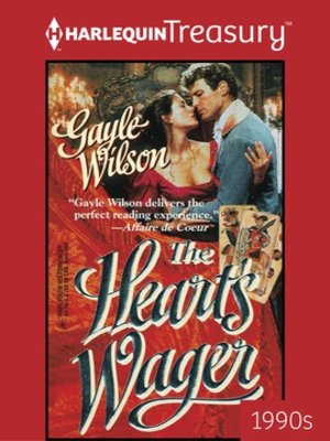 cover image of The Heart's Wager