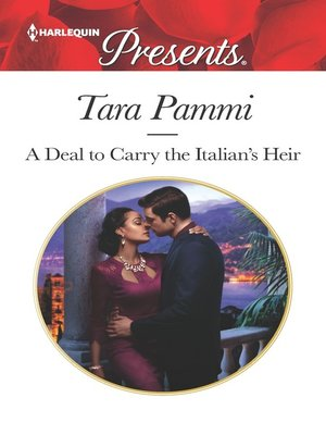 cover image of A Deal to Carry the Italian's Heir