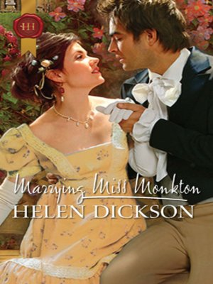 cover image of Marrying Miss Monkton