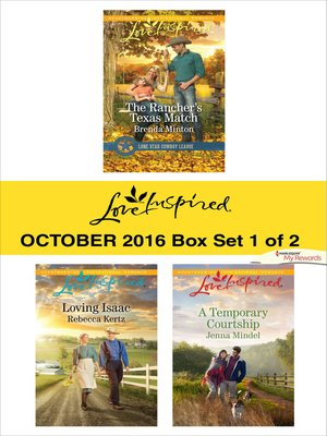 cover image of Harlequin Love Inspired October 2016, Box Set 1 of 2