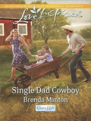 cover image of Single Dad Cowboy